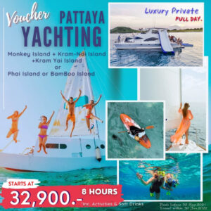 Enjoy a full Day 8 hours on a luxury private yacht.